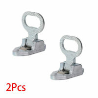 2x For ATV Quad Polaris Honda Truck RV Boat Fold Up Flip Down Footpegs Foot Rest