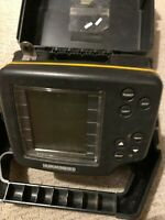 Hummingbird Wide 100 One Hundred Depth Fish Finder PORTABLE WITH CASE