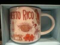 (NEW) Starbucks Puerto Rico Been There Series Coffee Mug Big.