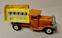 Vintage Original Coca-Cola Coke Metalcraft Toy Bottling Truck 1930s Rubber Tires
