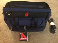 New Athalon 18quot; Blue Duffel Ski Bag w Lock and Keys Standard Carry On