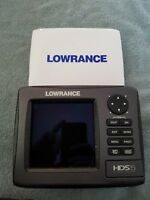 Lowrance HDS 5 Nautic Insight GPS/Fishfinder Untested