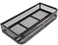 Universal ATV Front Cargo Basket Rack Luggage Carrier Steel Mesh Surface