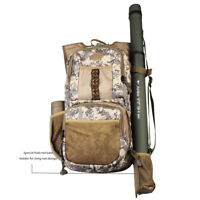 Fly Fishing Backpack Adjustable Size Outdoor Sports Camo Fly Fishing Bag