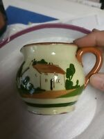 Dartmouth Pottery Devon Torquay Motto Ware Creamer Pitcher.