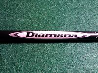 PING G25/i25 DIAMANA D+72 x5ct STIFF FLEX DRIVER SHAFT!!! 44 1/8