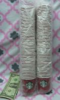 LOT of 100 Starbucks Paper Cups 4 Oz Christmas Holiday 2013 USA NEW NOS Vintage