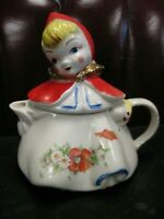 Hull Pottery Little Red Riding Hood Teapot. SHIPS FREE !!
