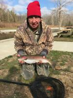 All Inclusive Guided Fly Fishing Trip Hatchery Creek, KY