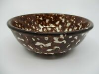 STANGL TOWN & COUNTRY CEREAL BOWL- BROWN -5 5/8