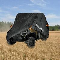 Universal 300D Waterproof 4 x 4 Cover Utility Vehicle Fit Polaris Can-Am Yamaha
