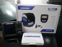 Lowrance Hook 5 portable Ice fishing pack