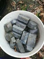 Lead Wheel Weights and Ingots