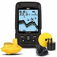 🐠🐠LUCKY FF718LiD Real-waterproof Fish Finder With Dual Sonar Frequency