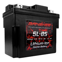 Lithium Ion Sealed Battery Replaces YTX5L-BS 12V 90 CA Motorcycle Scooter ATV