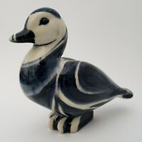 Carl Walters Stonelain Pottery Stately Duck Assoc. American Artists Signed