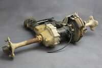 1990 Yamaha Moto 4 Complete Rear End Back Differential Gearbox Axle Drum Hub