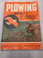 Vintage Case Centennial Tractor PLOW Booklet  15 Pages Color