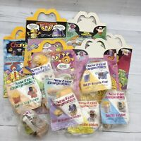 1988 McDonald's Happy Meal Food Changeables Toy Series 2 Set Boxes