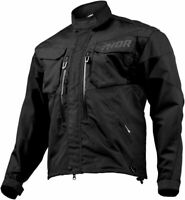 Thor Mens Black Terrain Dirt Bike Jacket MX ATV 2019