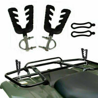 Quad Gun Holder Shovel Bow Holder Rack for ATV UTV Golf Cart Motorcross Hunting