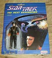 Star Trek The Next Generation TNG Galoob Q Action Figure 1988 RARE - Fast Ship