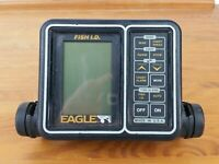 Eagle Fish I.D. Fishfinder Locater Unit and Mount