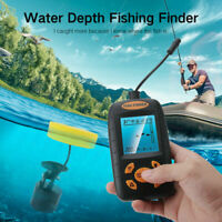 328fts Portable Sonar Alarm Fish Finder Depth Echo Sensor Transducer Fishfinder