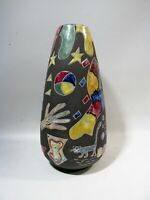 Midcentury Keto Keramik Art Pottery Large Surreale Vase #914 Germany