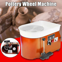 25CM 350W Pottery Wheel Ceramic Machine For Ceramic Work Clay pottery mold 110V