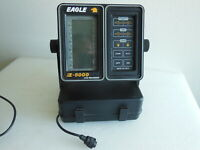 Eagle Z-5000 LCG Recorder Portable Fish Depth Finder with Base