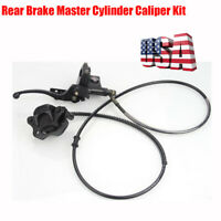 Rear Brake Master Cylinder Caliper Assembly for 50cc - 125cc Chinese ATV Scooter