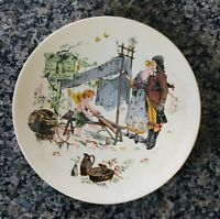SARREGUEMINES Faience French Plate~8.5