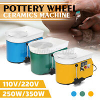 350W 3 Color DIY Pottery Wheel Ceramic Machine Advanced Brushless Clay Arts