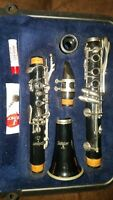 SELMER USA 1401 Bb CLARINET JUST SERVICED NEW PADS! BAND READY! FREE RETURNS