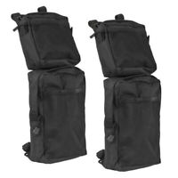 Universal Motorcycle Snowmobiles ATV Tank Top Saddle Bag Waterproof Travel Black