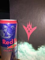 Destiny Promotional Red Bull Energy Drink 12 FL Oz -RARE- DISCONTINUED-