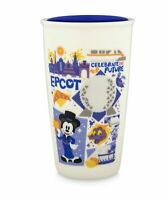 Disney Parks Starbucks Epcot Attractions Coffee Tumbler Travel Mug New