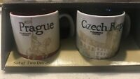 Starbucks Demitasse 3 oz Global: Prague & Czech Republic  NEW