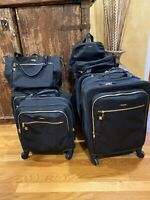 Tumi Tres Leger & Osana Couples matching set with Mauren tote & backpack