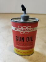 Winchester Gun Oil Can ~ Lead Top ~ Vintage Can