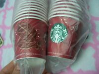LOT of 150 Starbucks Paper Cups 4 Oz Christmas Holiday 2013 USA NEW NOS Vintage
