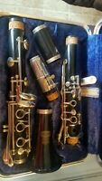 SELMER BUNDY Bb CLARINET JUST PRO SERVICED with case! Band ready! Free returns