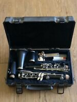 Clarinet Armstrong 4001 Student Level Bb w/Case Black On Black Cork