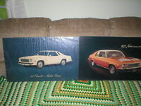 1975 CHEVROLET Chevy MALIBU CLASSIC  DEALER SHOWROOM POSTER 18 x 32