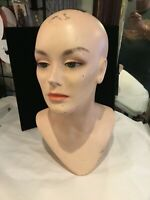 RARE VINTAGE #S 213 DISPLAY MANNEQUIN HEAD MUST SEE NO RESERVE RARE WOW