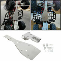 For Yamaha Raptor 700 700R Full Chassis Glide Swing Arm Skid Plate Guard Combo