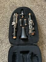 Jean Baptiste JBCL484 Clarinet Used CLEAN W/ Case, Cork Grease, Reed Holder