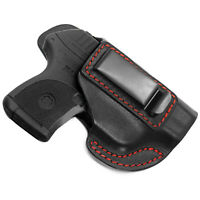Fits Ruger LCP IWB .380 Concealed Carry Leather Holster LCP 1 and LCP 2 II MAX