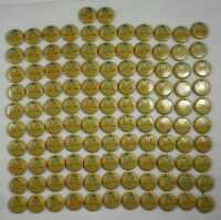 Lot of 112 Vtg Canada Dry Vanilla Cream Soda Bottle Caps NOS Unused